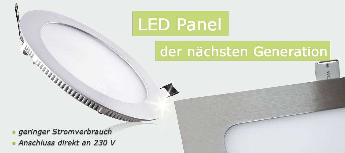 LED-Panele im Grosshandel
