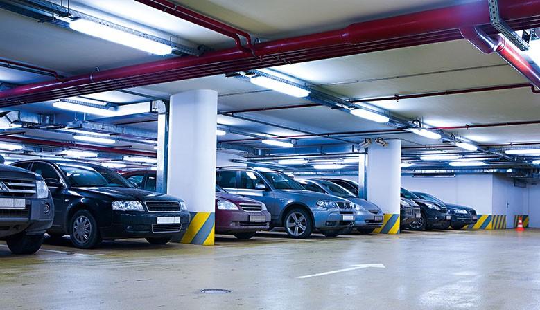 LED-Röhren für Tiefgaragen
