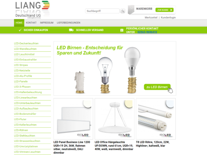 Onlineshop-LIANG